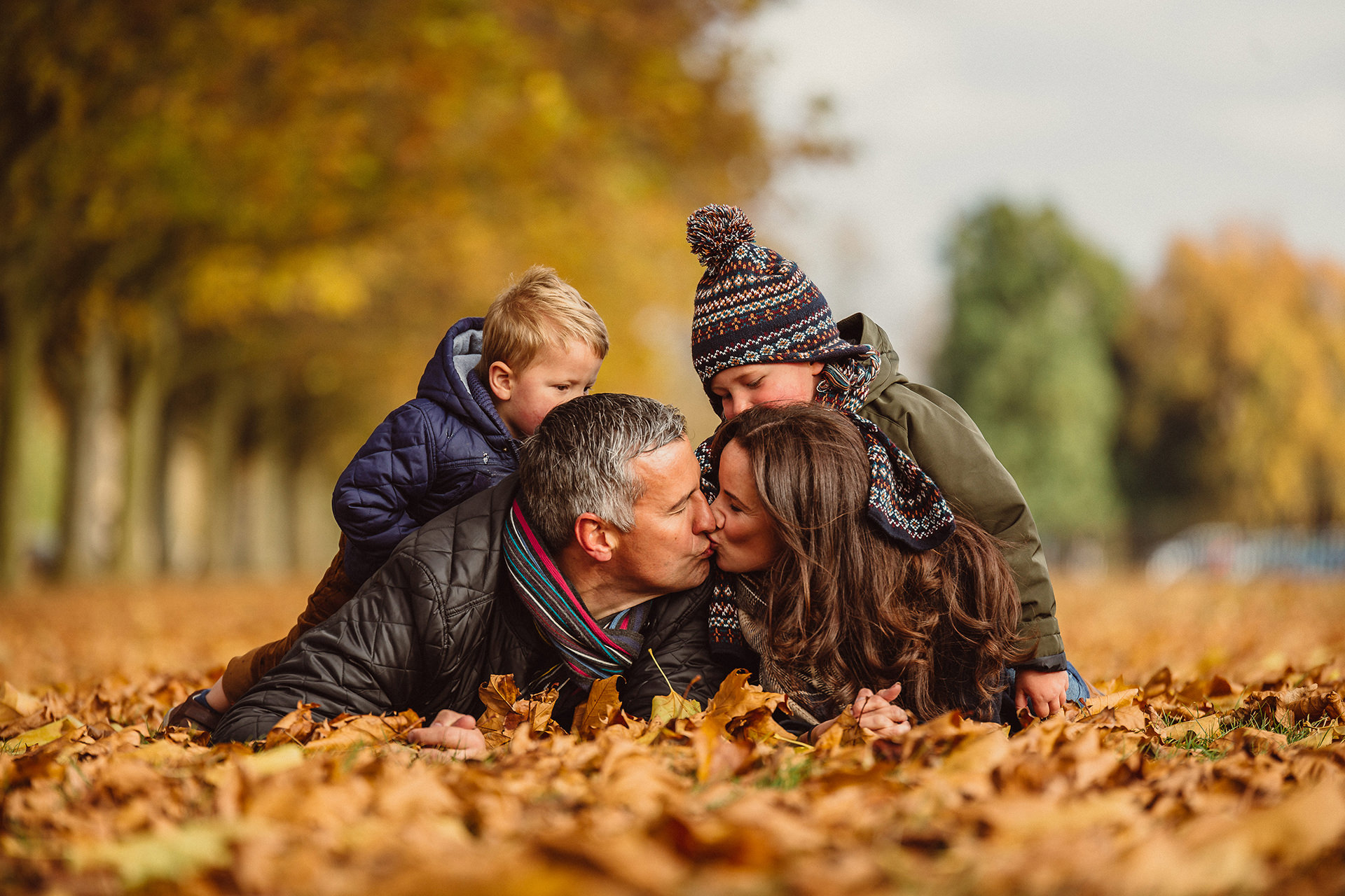Professional Family, Child, Baby Photographer Oxford Oxfordshire Blenheim Palace Autumn