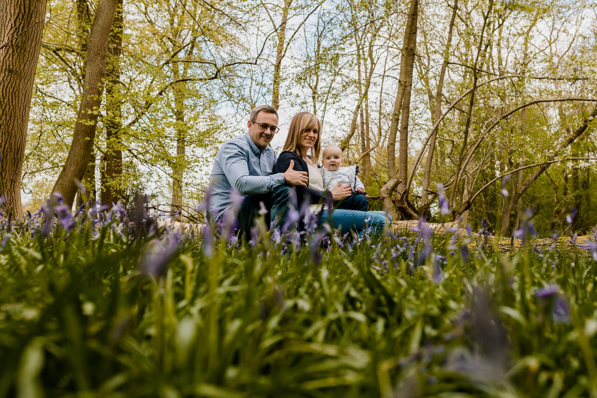 Family Photography Ashridge Buckinghamshire Bluebells Potters Instinct Photography