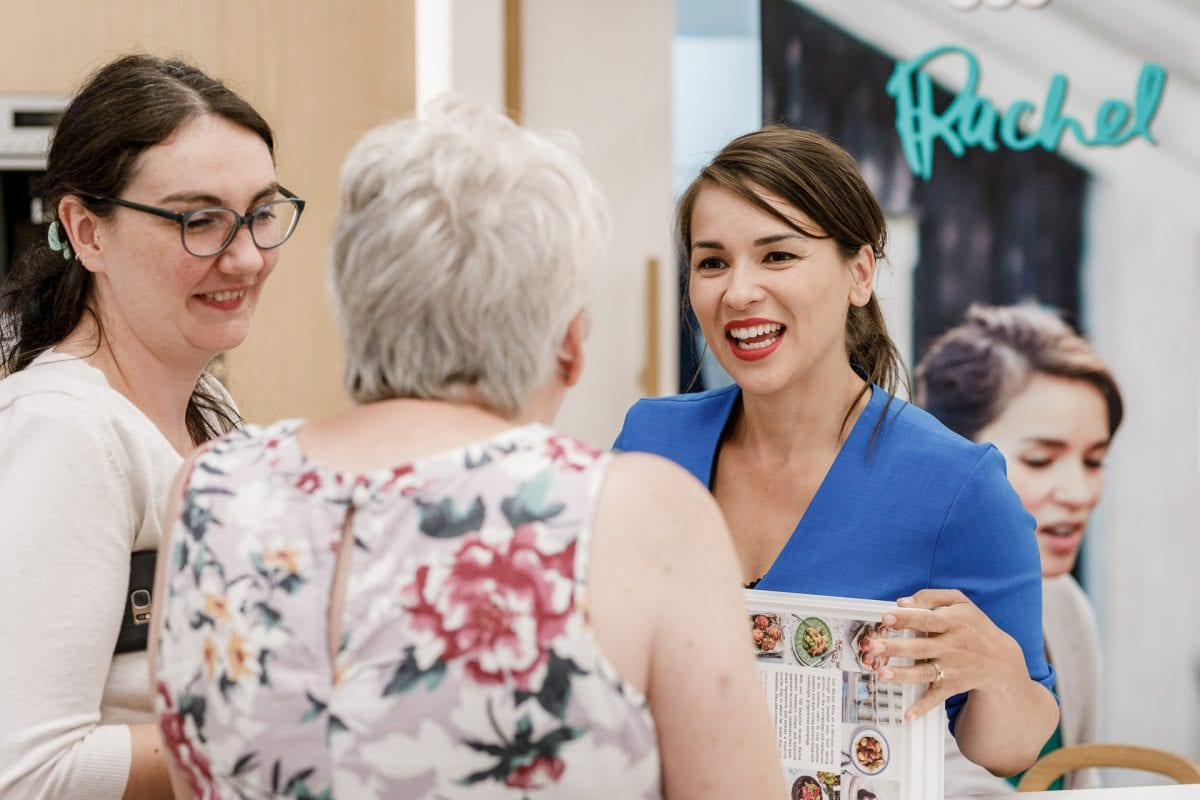 Event Photographer London | SMEG uk Rachel Khoo Chef