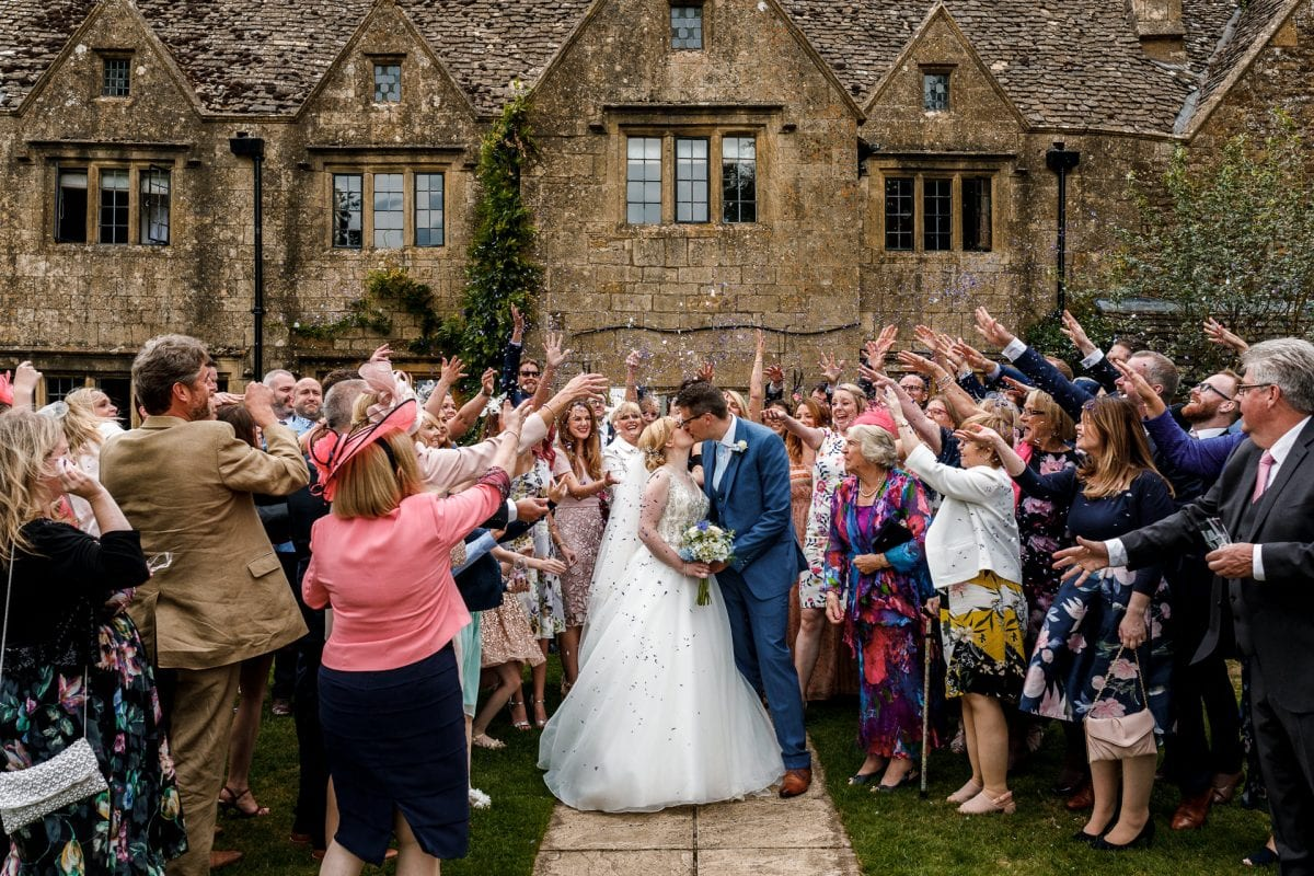 Wedding Photographer Charingworth Manor Gloucestershire Potters