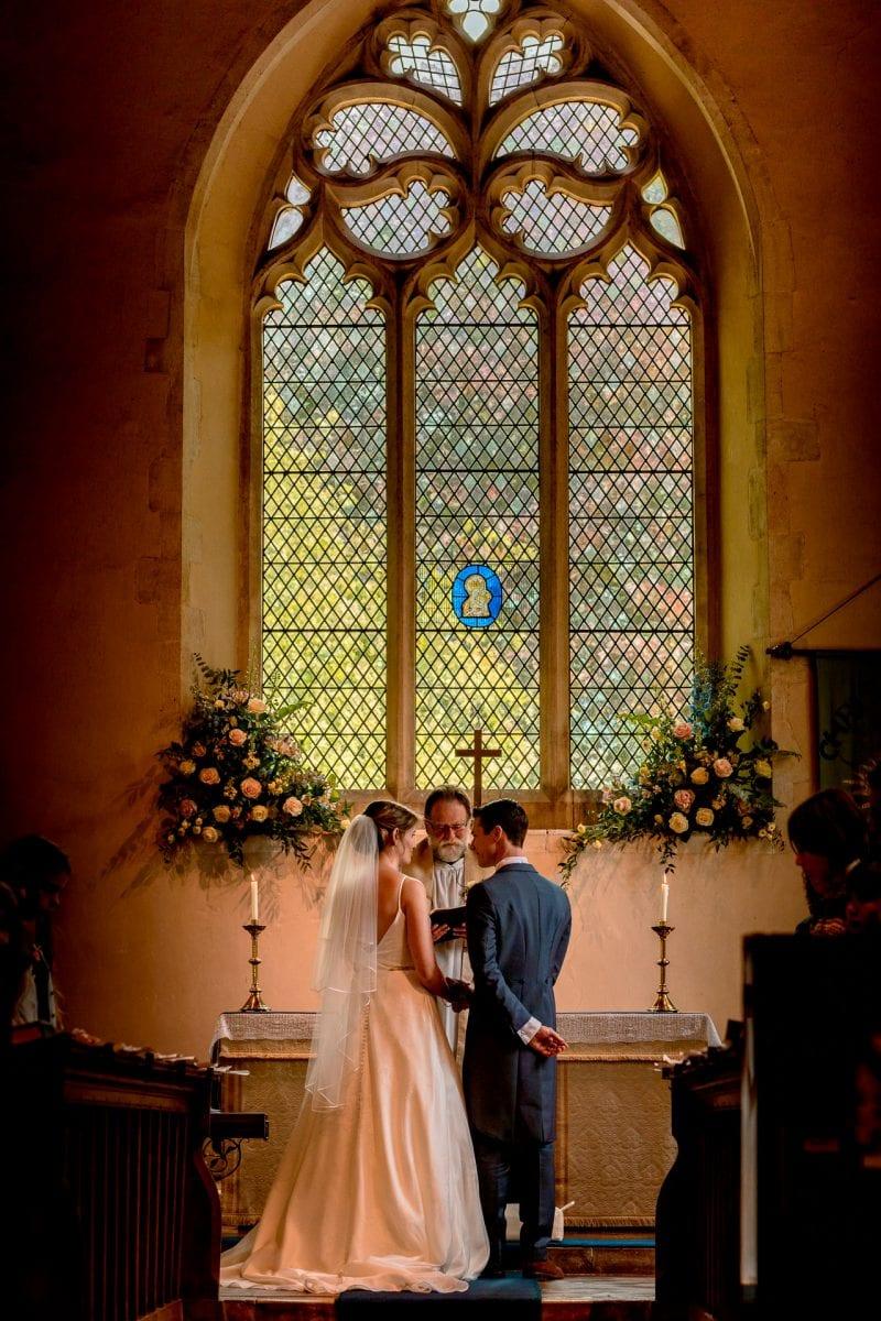 St Mary's Church Weston Turville, glass window