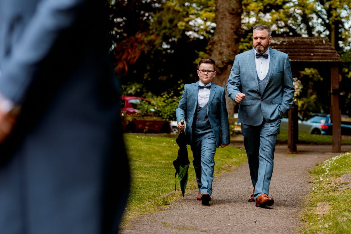 Man and Boy looking proper swagger!