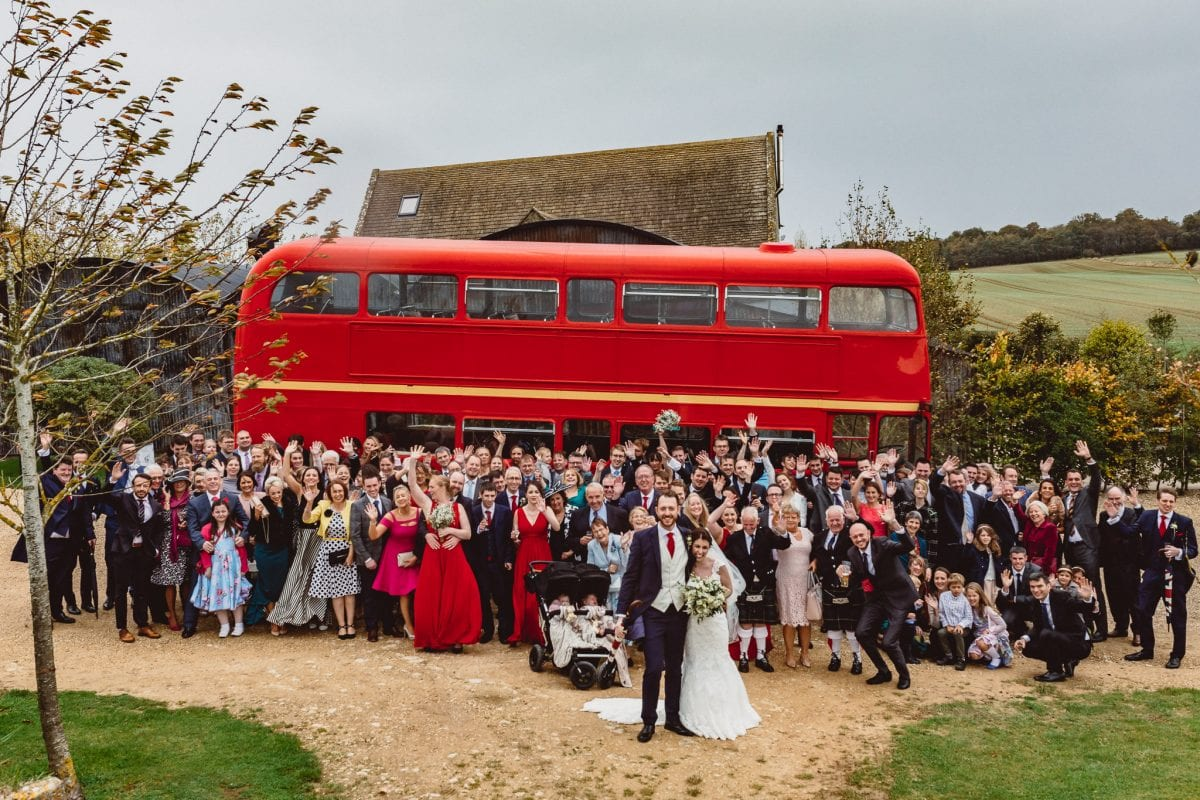 All Wedding Guests taken during Storm Brian. What to do if it rains on my wedding day?