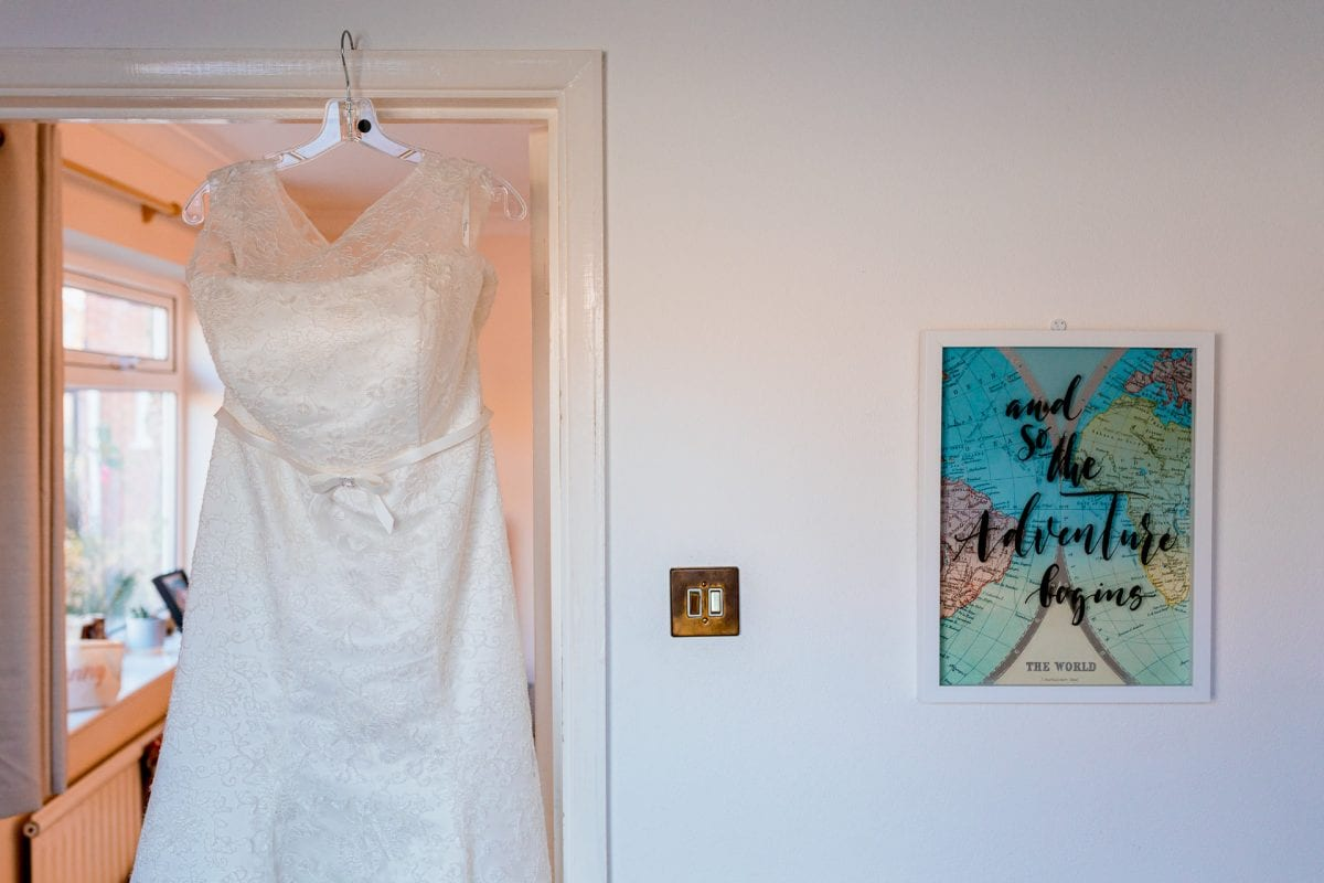 Wedding Photographer Buckinghamshire bride getting ready at home
