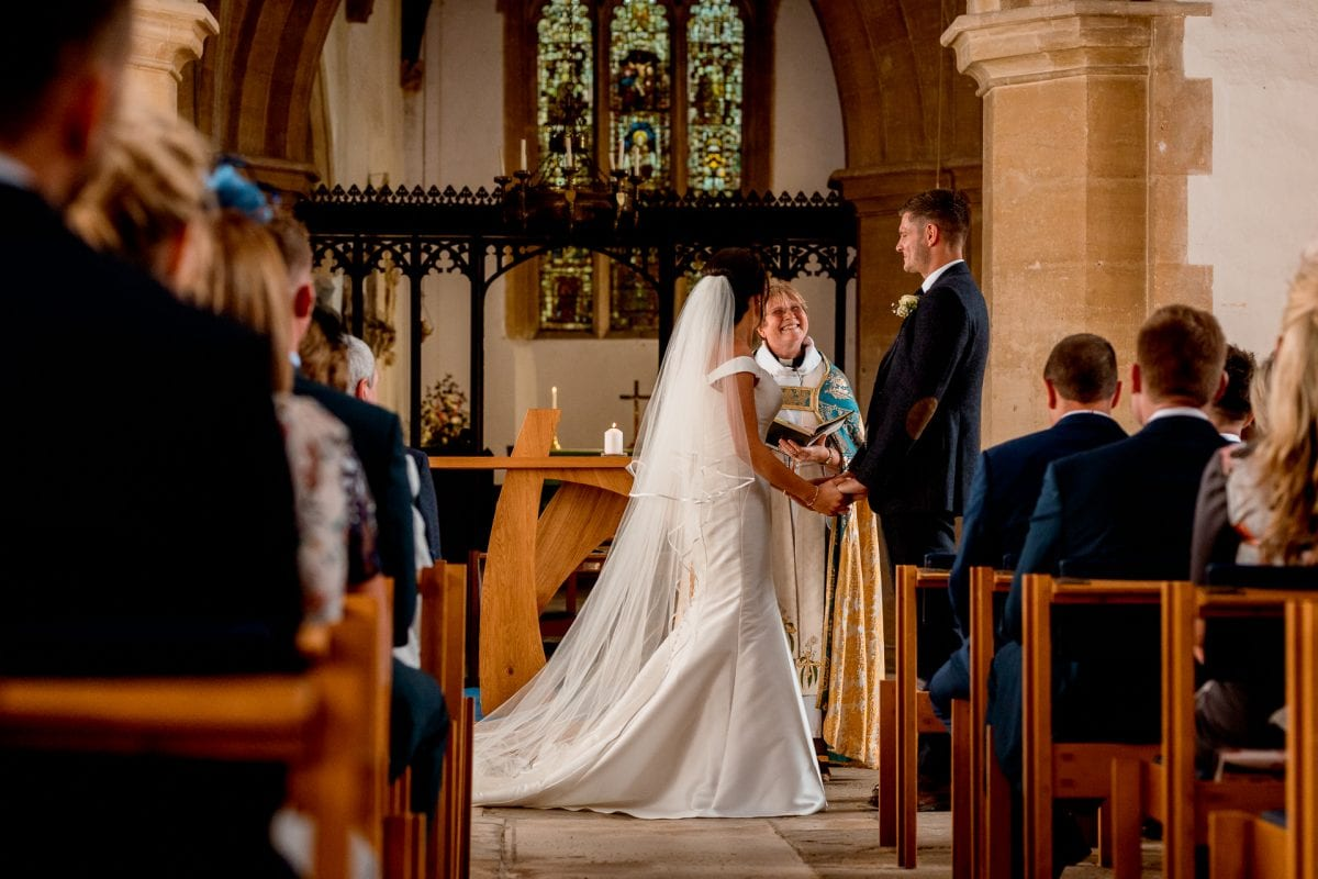 St Mary's Church Kidlington wedding vows