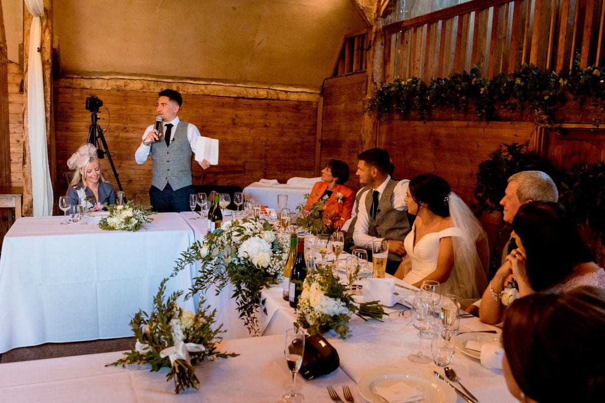 lains barn wedding photography blog oxfordshire best mans speech
