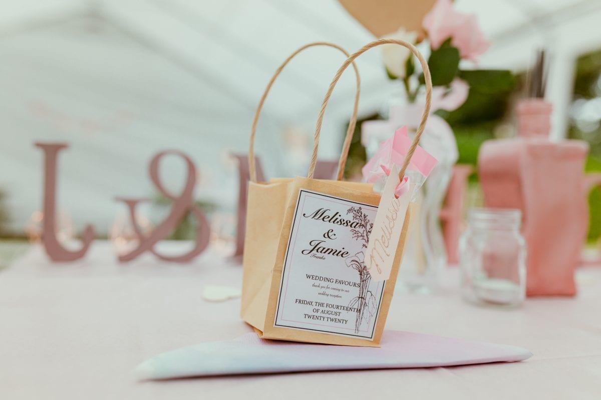 Wedding reception details and inspiration
